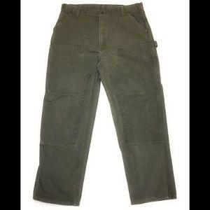 Mens Carhartt Carpenter Pants Tag 40 X 32